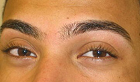 Eyebrows Shaping AFTER