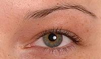 Eyebrows & Eyeliner BEFORE