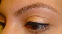 Eyebrows Shaping & Tinting AFTER
