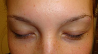 Eyebrows Shaping & Tinting BEFORE
