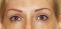 Permanent Makeup - Eyebrow and Eyeliner After